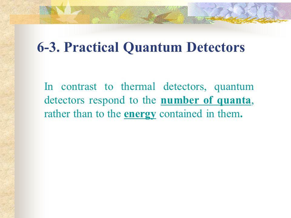 6-3. Practical Quantum Detectors
