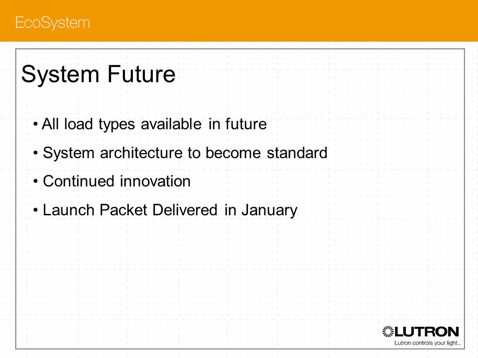 System Future All load types available in future
