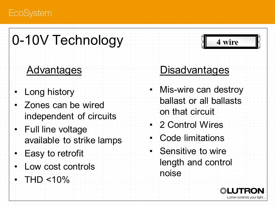 0-10V Technology Advantages Disadvantages