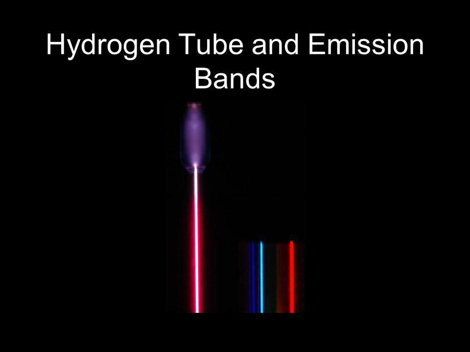 Hydrogen Tube and Emission Bands
