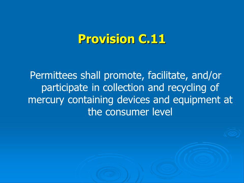 Provision C.11