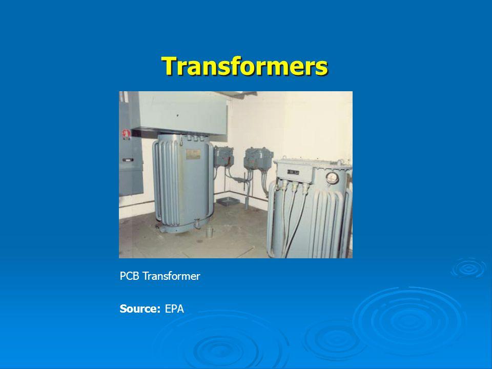 Transformers PCB Transformer Source: EPA