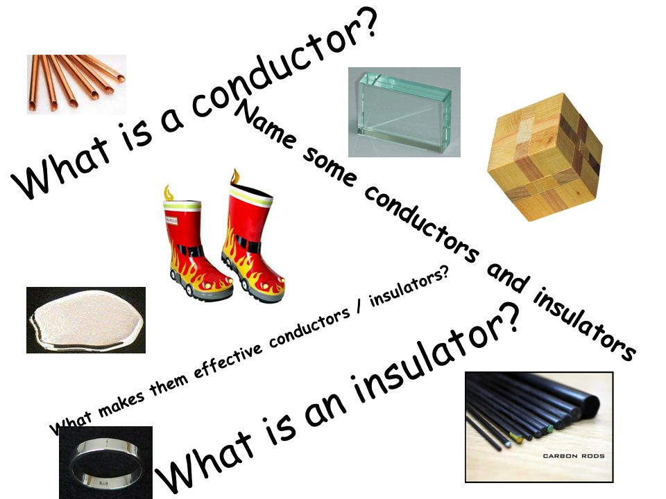 What is a conductor What is an insulator