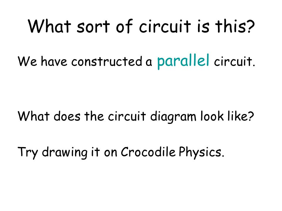 What sort of circuit is this
