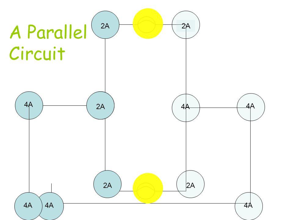 2A 2A A Parallel Circuit 4A 2A 2A 4A 4A 2A 2A 4A 4A 4A