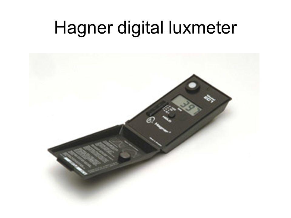 Hagner digital luxmeter