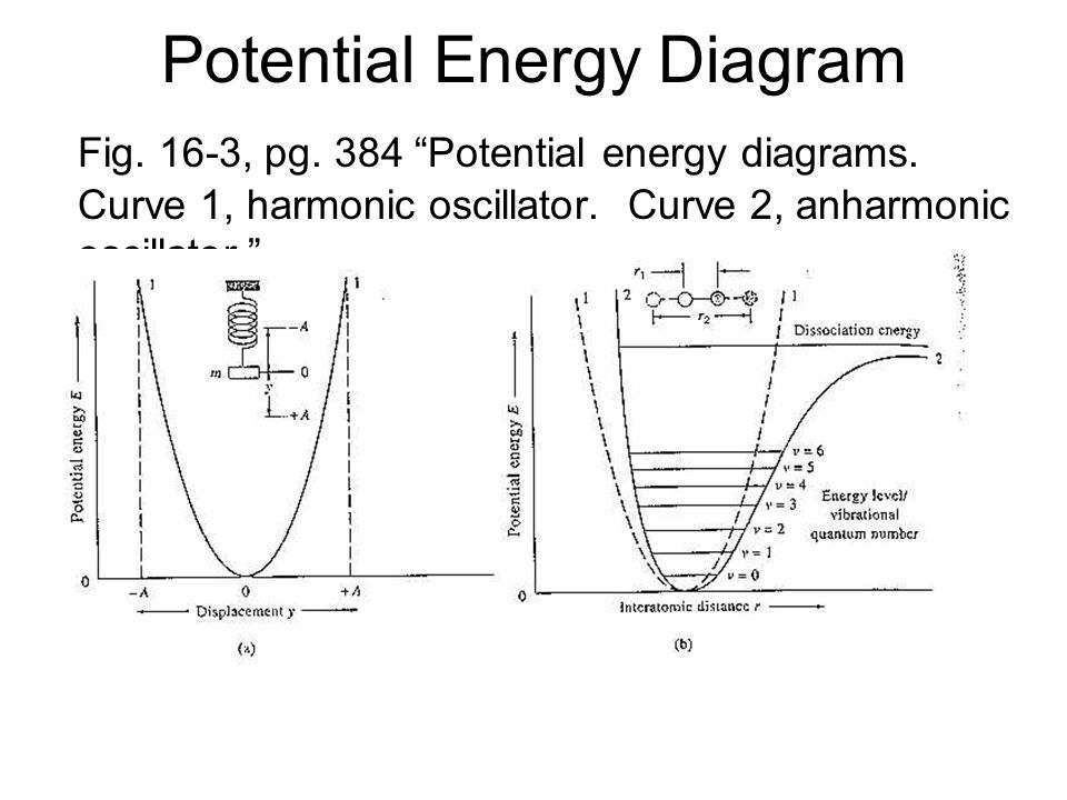 Potential Energy Diagram