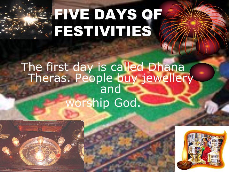 FIVE DAYS OF FESTIVITIES