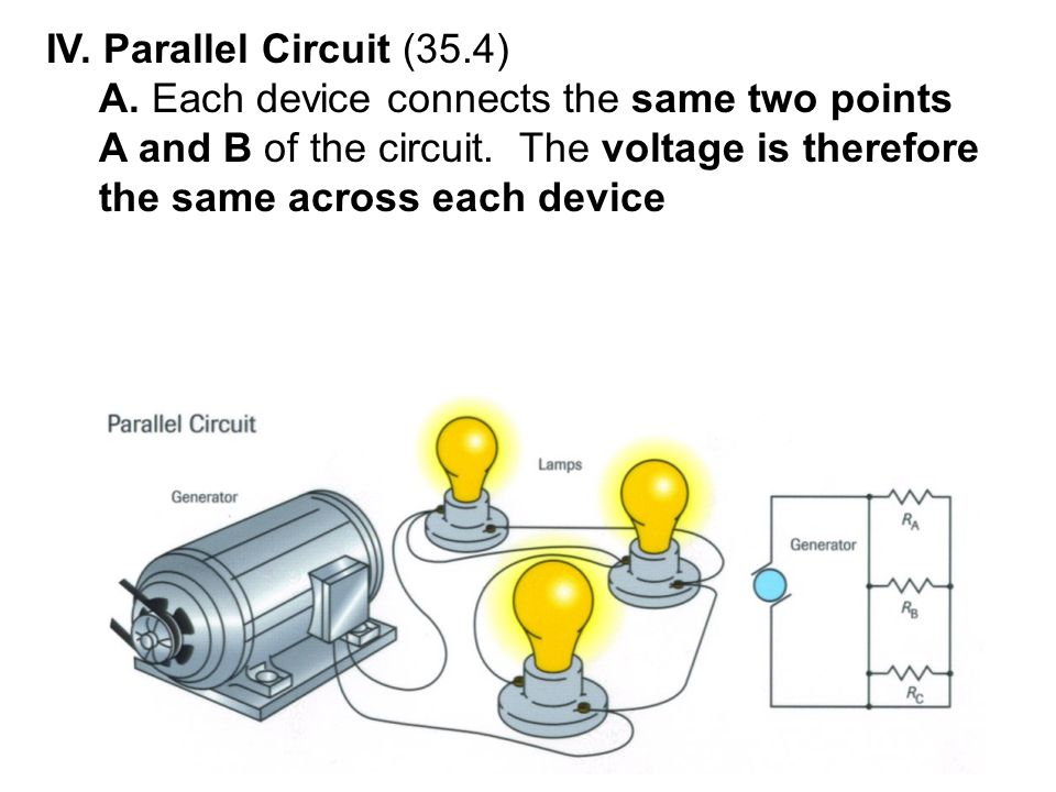 IV. Parallel Circuit (35.4)