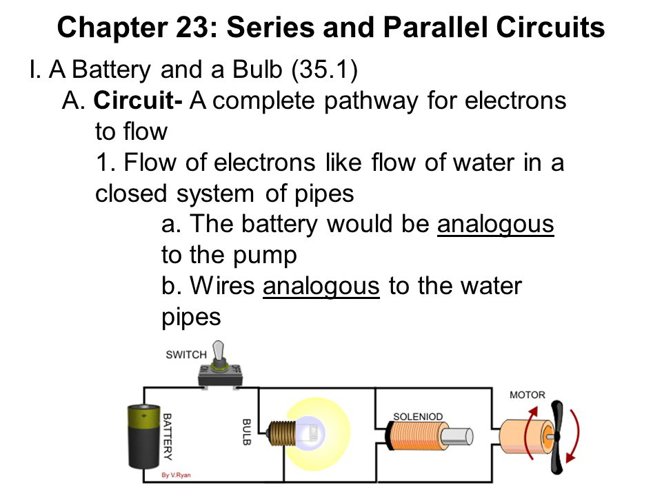Chapter 23: Series and Parallel Circuits