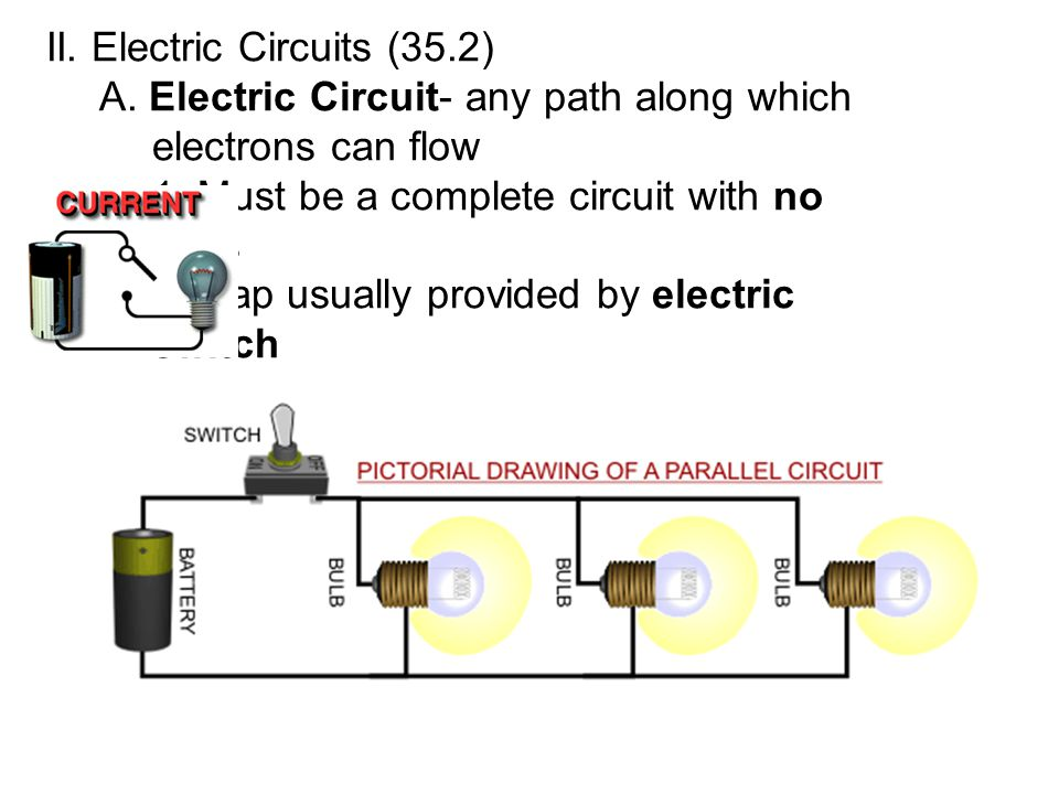 II. Electric Circuits (35.2)