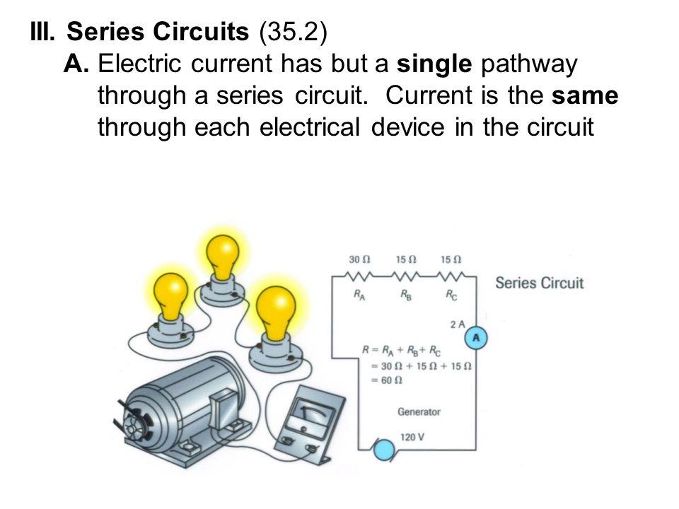 III. Series Circuits (35.2)