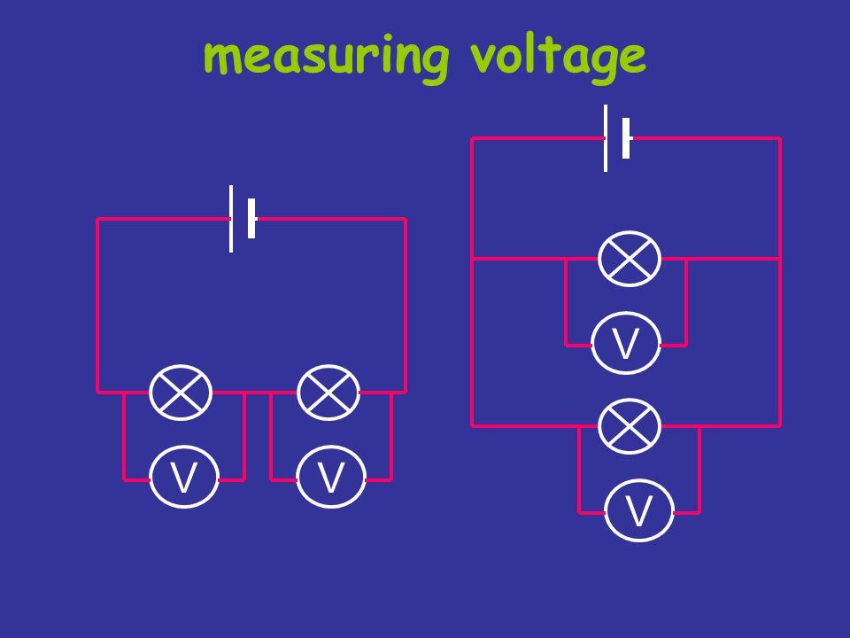 measuring voltage V V V V