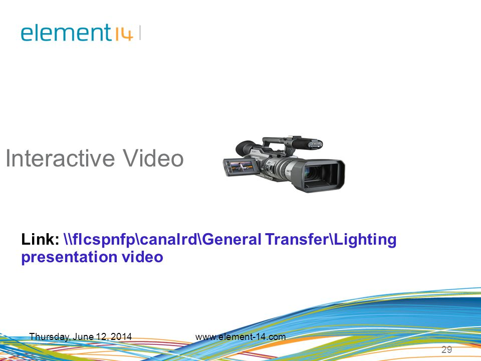 Interactive Video Link: \\flcspnfp\canalrd\General Transfer\Lighting presentation video. Saturday, April 01, 2017.