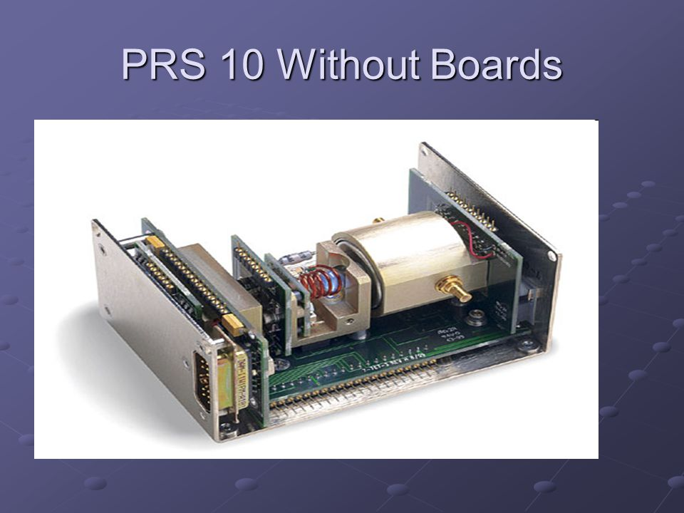 PRS 10 Without Boards Lamp Physics Pkg Lamp Physics