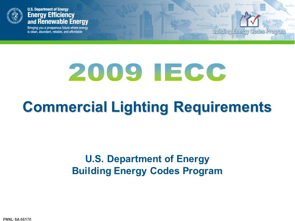 Commercial Lighting Requirements