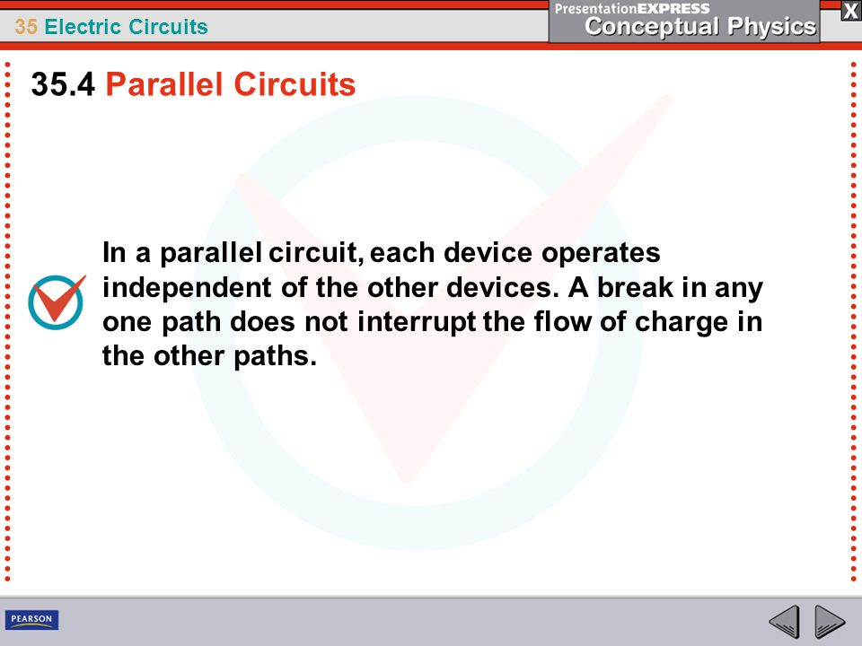 35.4 Parallel Circuits