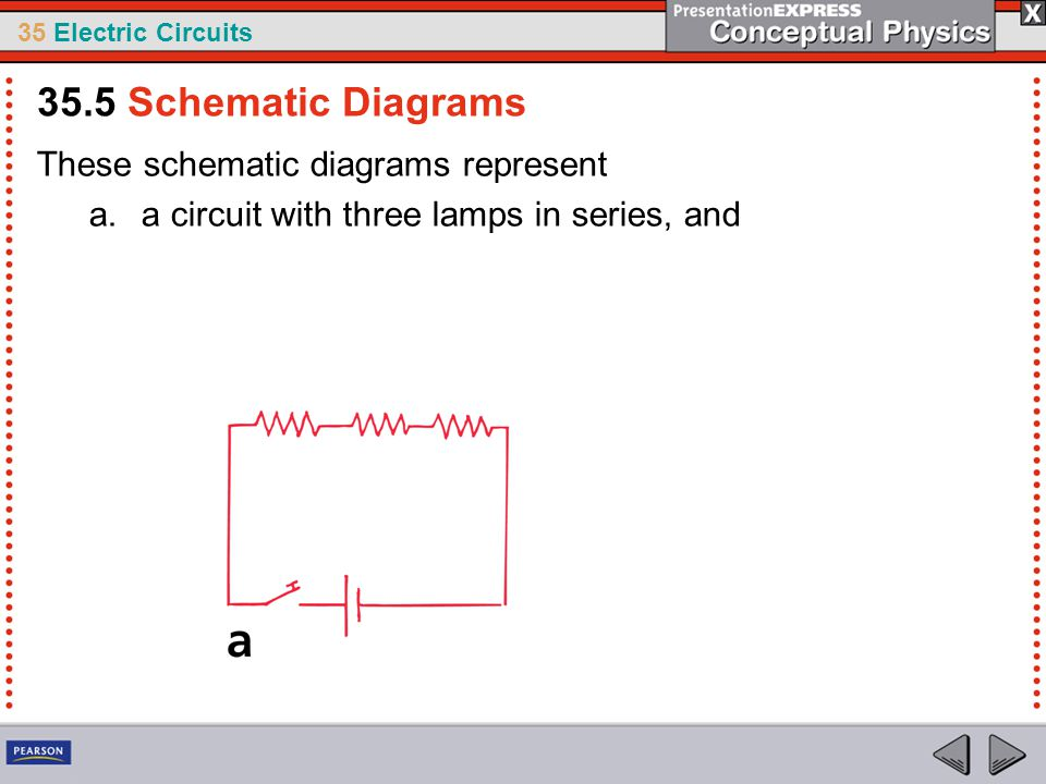 35.5 Schematic Diagrams These schematic diagrams represent
