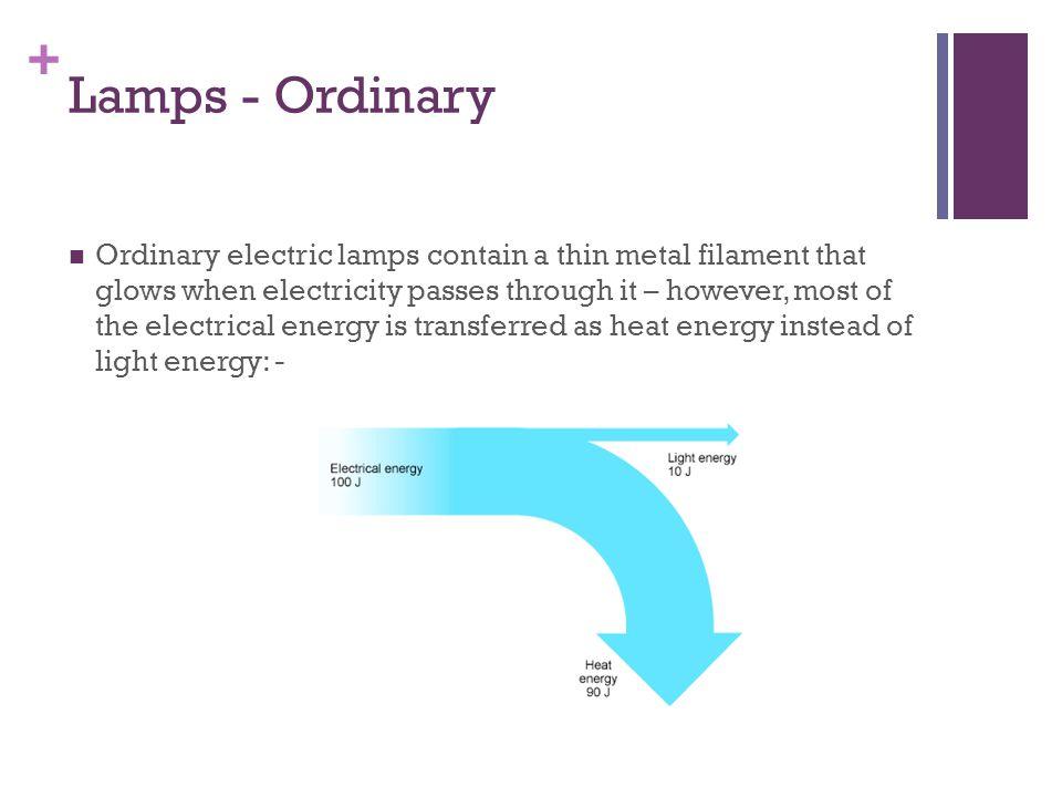 Lamps - Ordinary