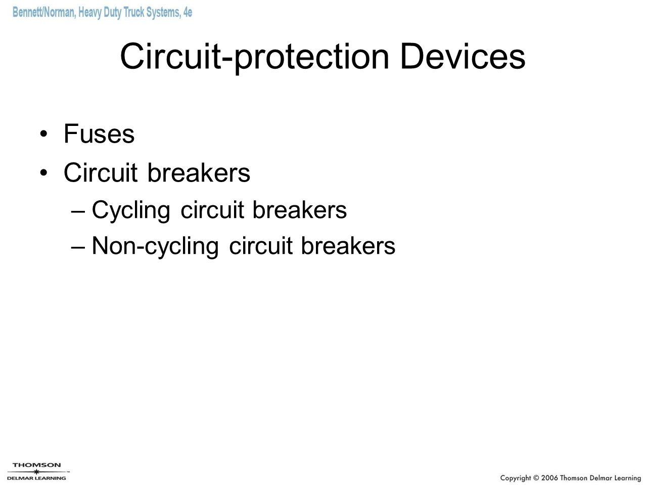 Circuit-protection Devices