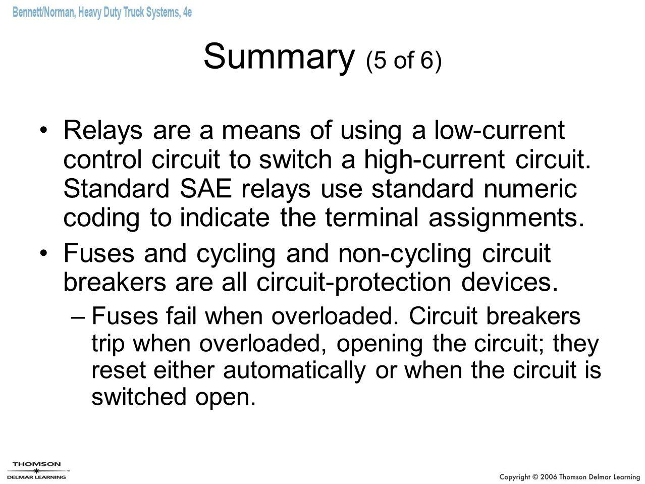 Summary (5 of 6)