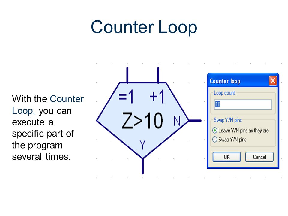 RoboPro Gateway To Technology® Unit 2 – Lesson 2.3 – Automated Systems. Counter Loop.