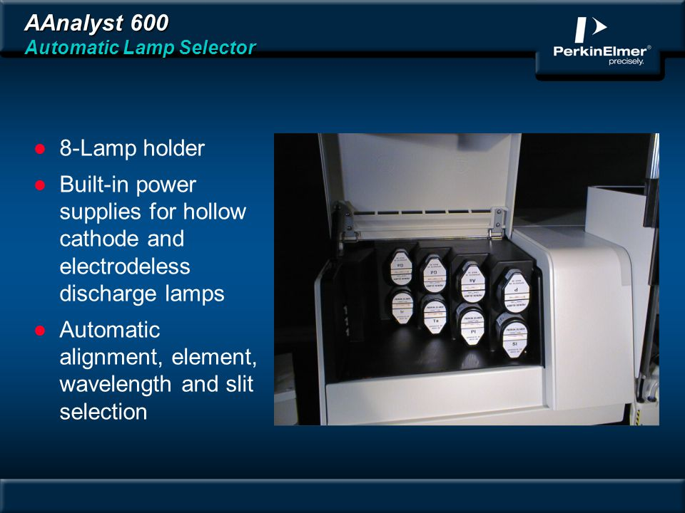 AAnalyst 600 Automatic Lamp Selector