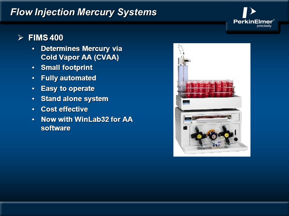 Flow Injection Mercury Systems
