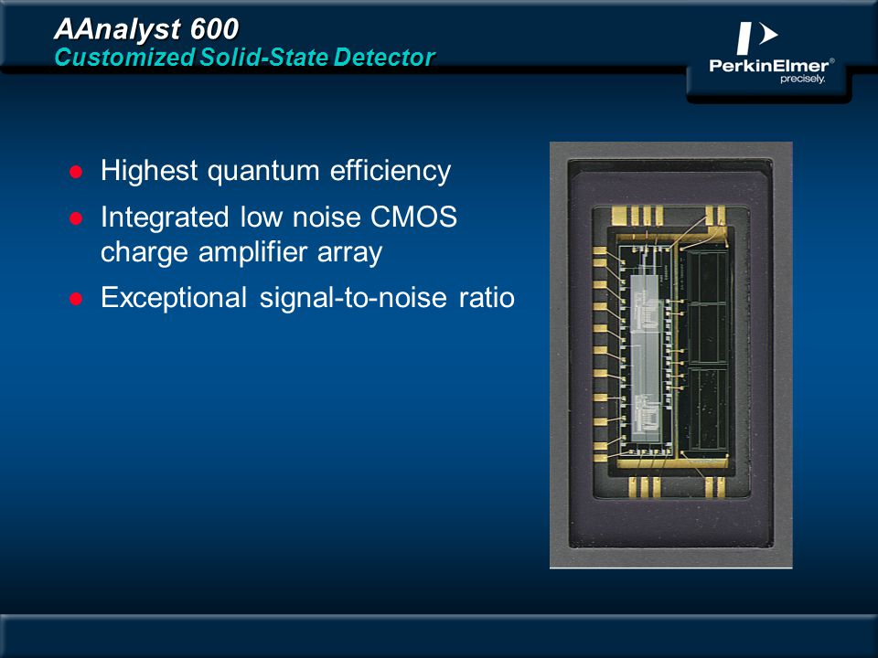 AAnalyst 600 Customized Solid-State Detector