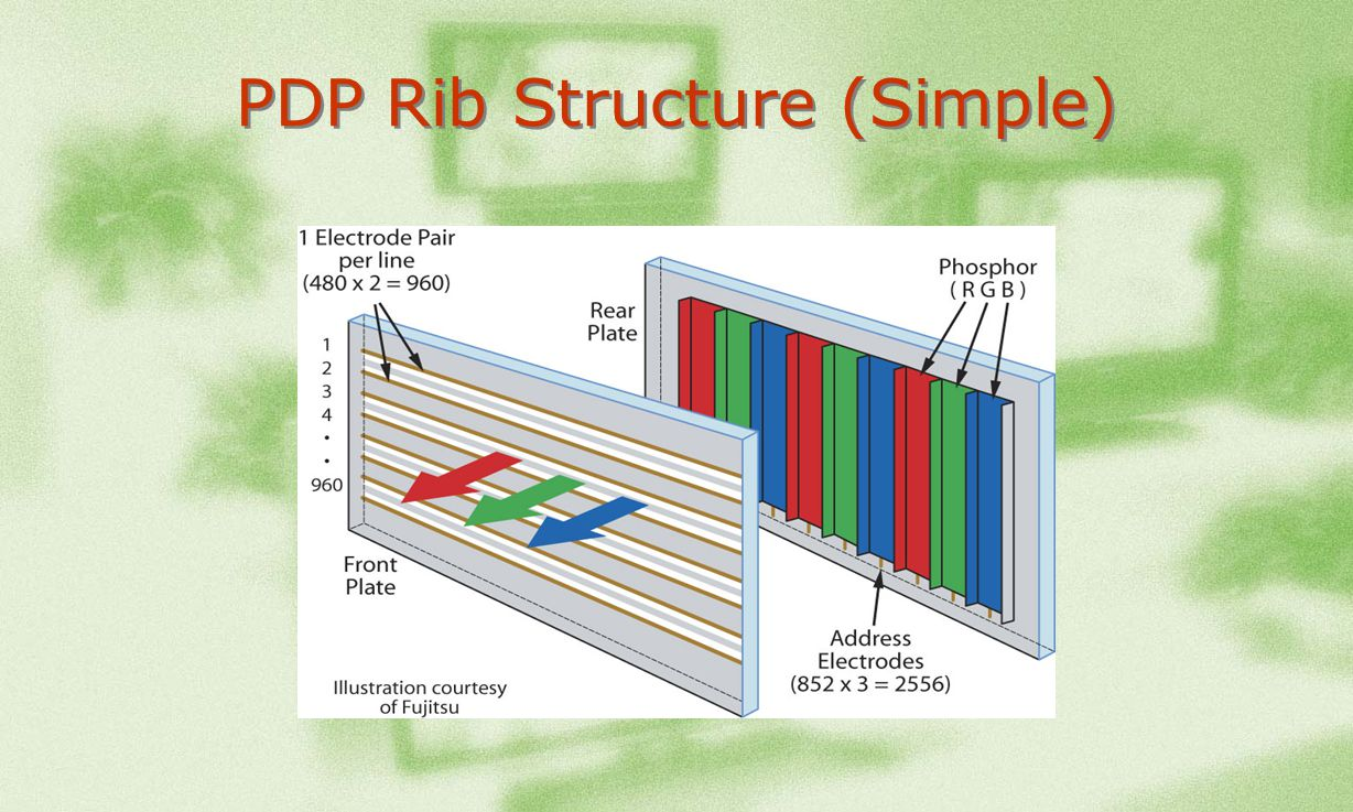 PDP Rib Structure (Simple)