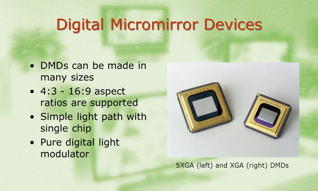 Digital Micromirror Devices