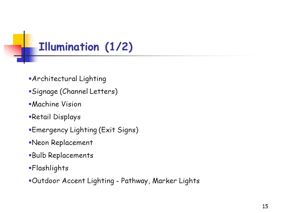 Illumination (1/2) Architectural Lighting Signage (Channel Letters)