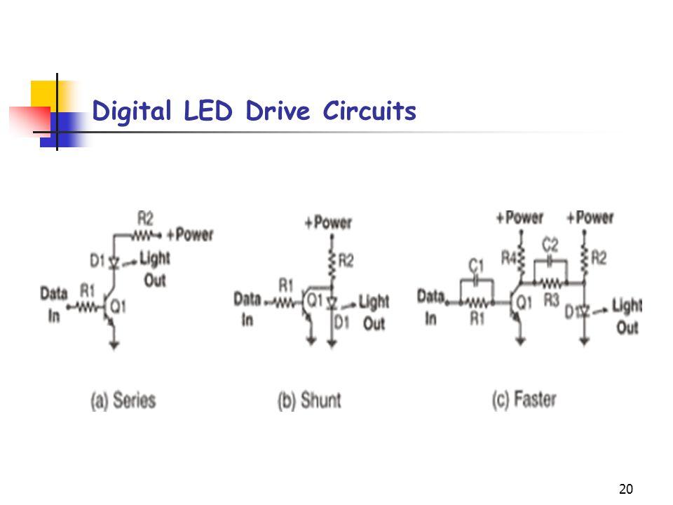 Digital LED Drive Circuits