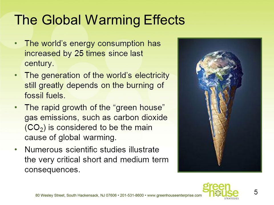 The Global Warming Effects