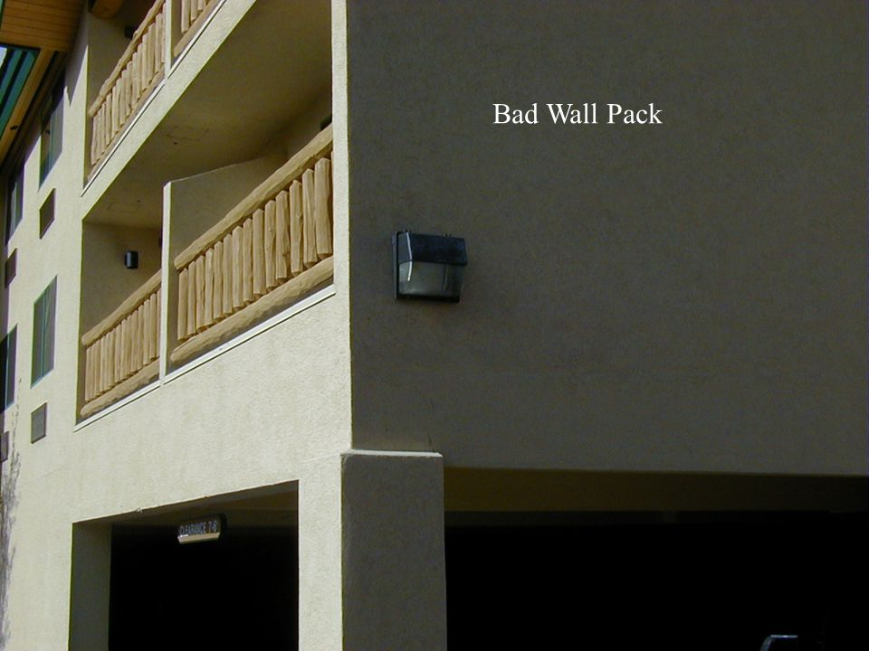 Bad Wall Pack