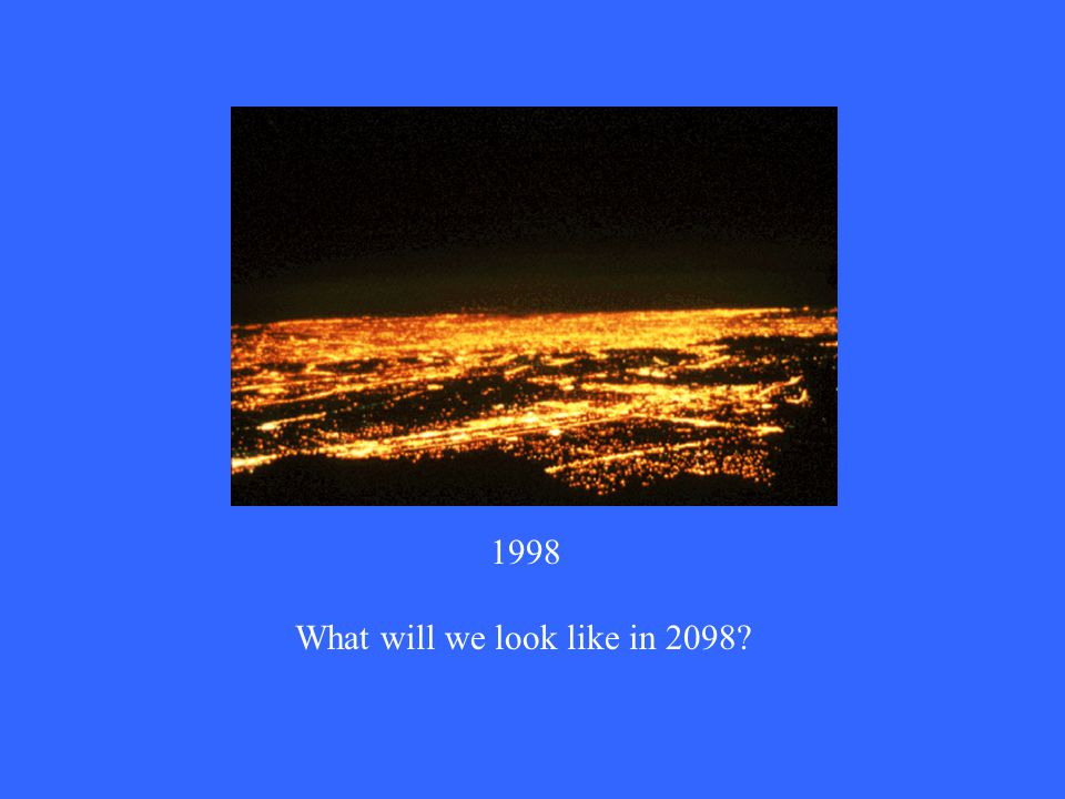 1998 What will we look like in 2098