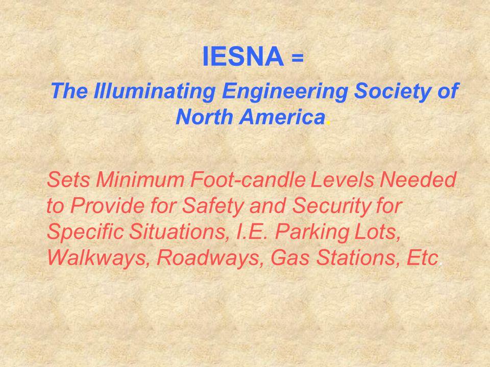 The Illuminating Engineering Society of North America.