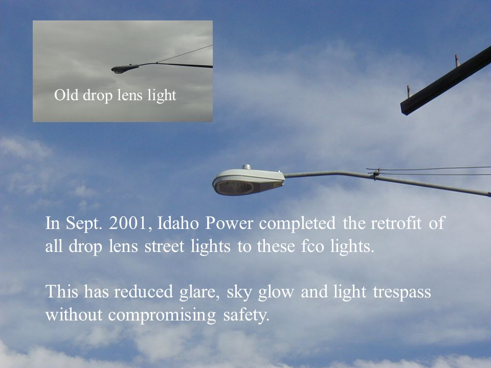 In Sept. 2001, Idaho Power completed the retrofit of
