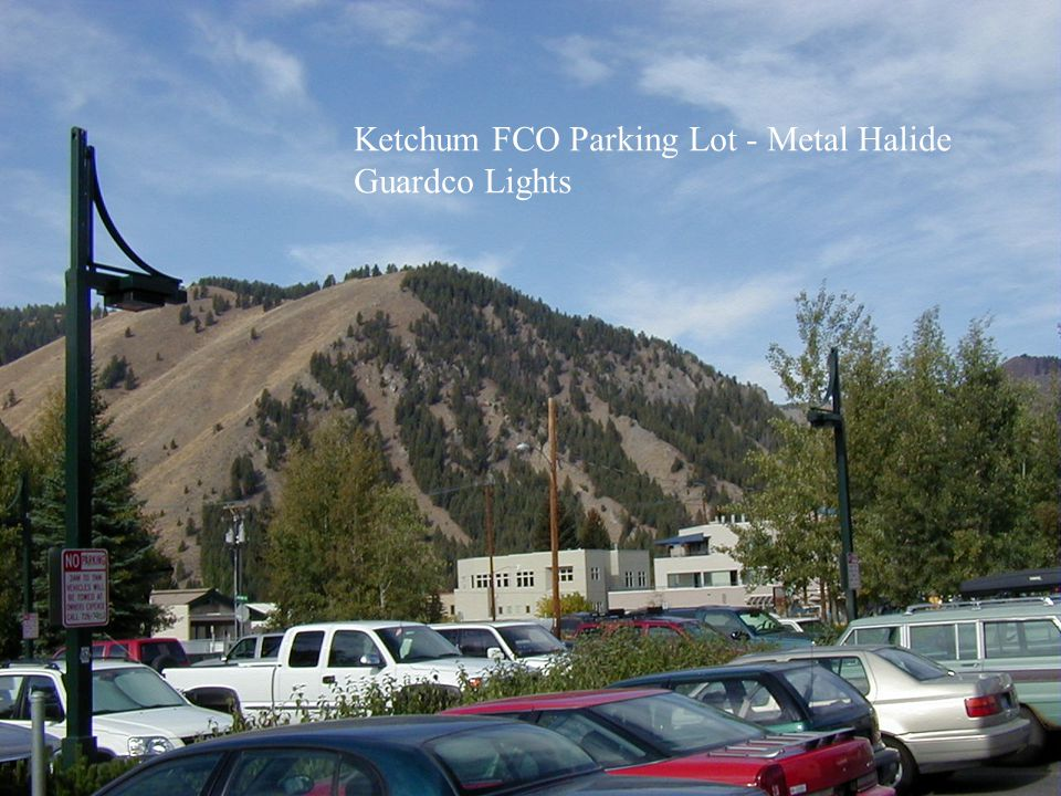 Ketchum FCO Parking Lot - Metal Halide
