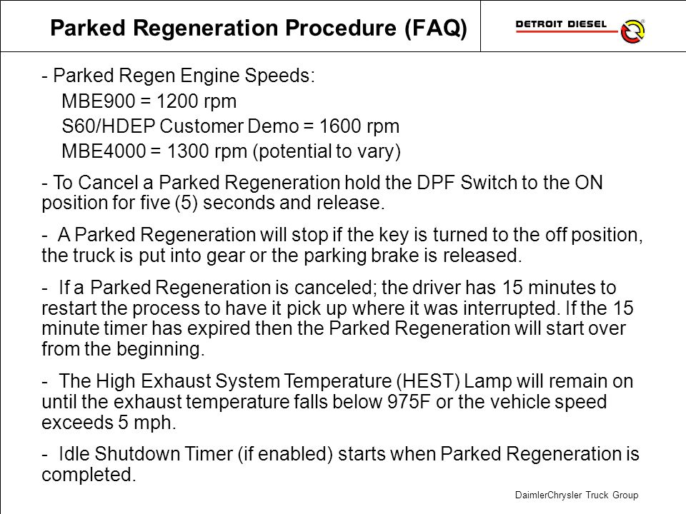 DDEC Reports – Trip Activity Explanation 1/2