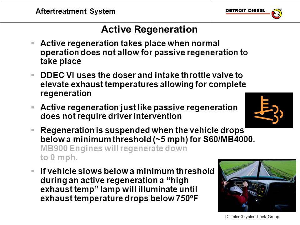 Stationary or Parked Regeneration