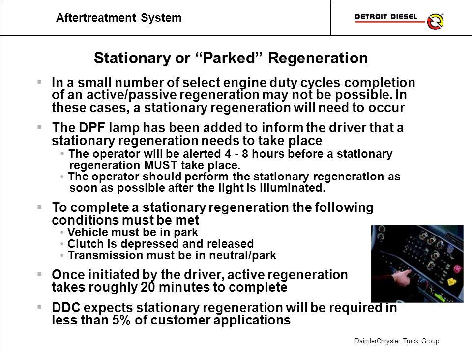 Regeneration Strategy Vocational Applications
