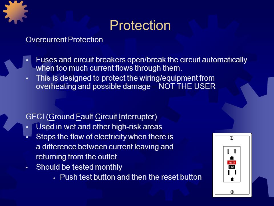 Protection Overcurrent Protection