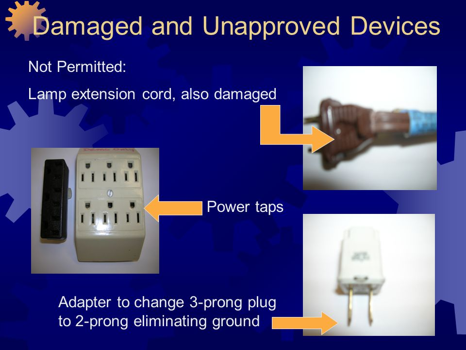 Damaged and Unapproved Devices