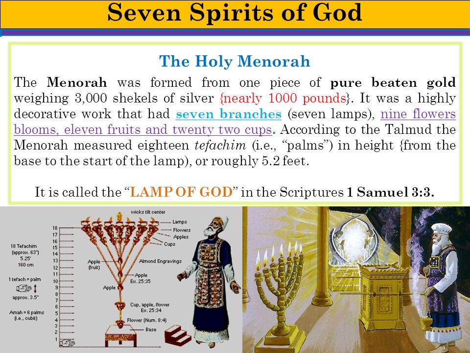 It is called the LAMP OF GOD in the Scriptures 1 Samuel 3:3.