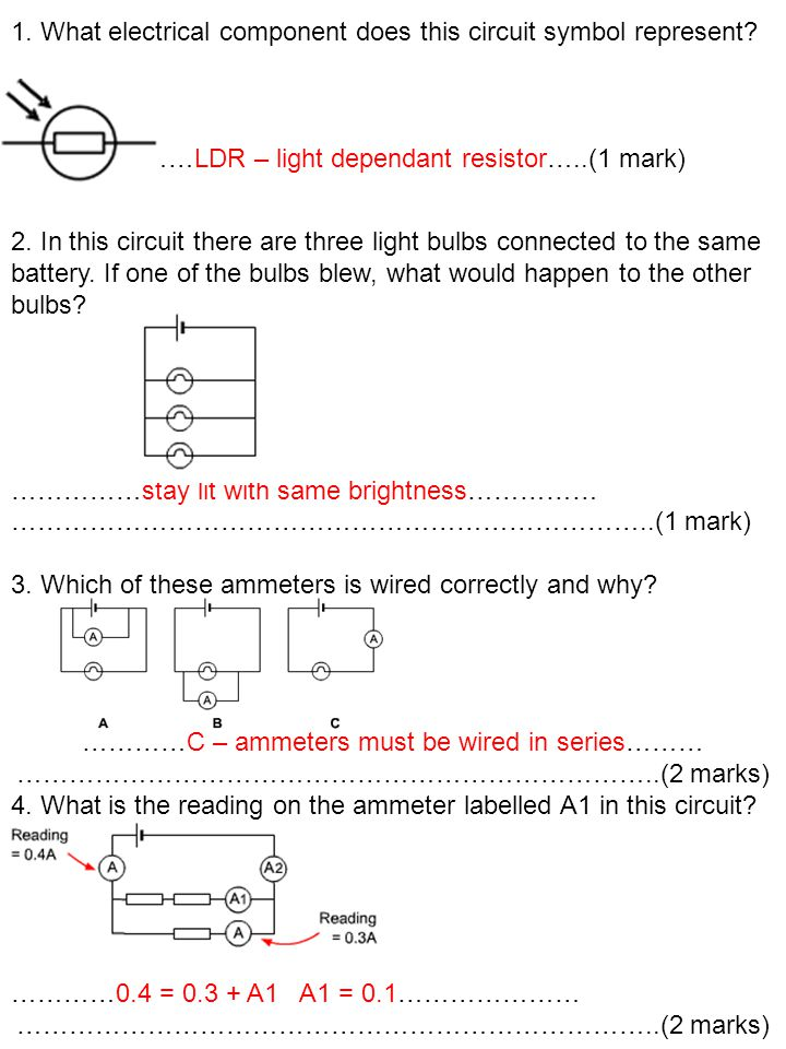 Contemporary Ammeter Symbol In A Circuit Photos Schematic Diagram