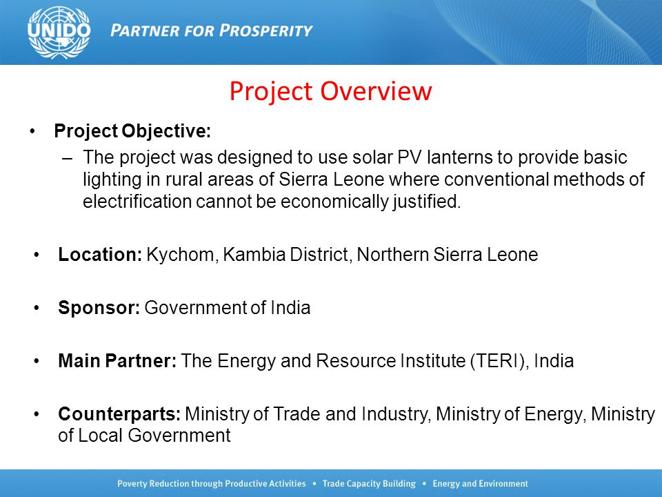 Project Overview Project Objective: