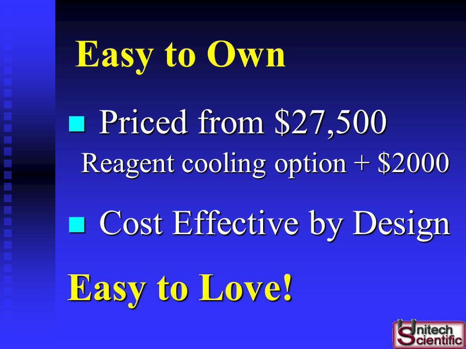 Easy to Own Easy to Love! Priced from $27,500 Cost Effective by Design