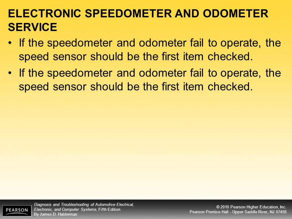 ELECTRONIC SPEEDOMETER AND ODOMETER SERVICE