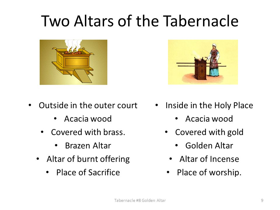 Two Altars of the Tabernacle